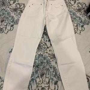 Gap white jeans